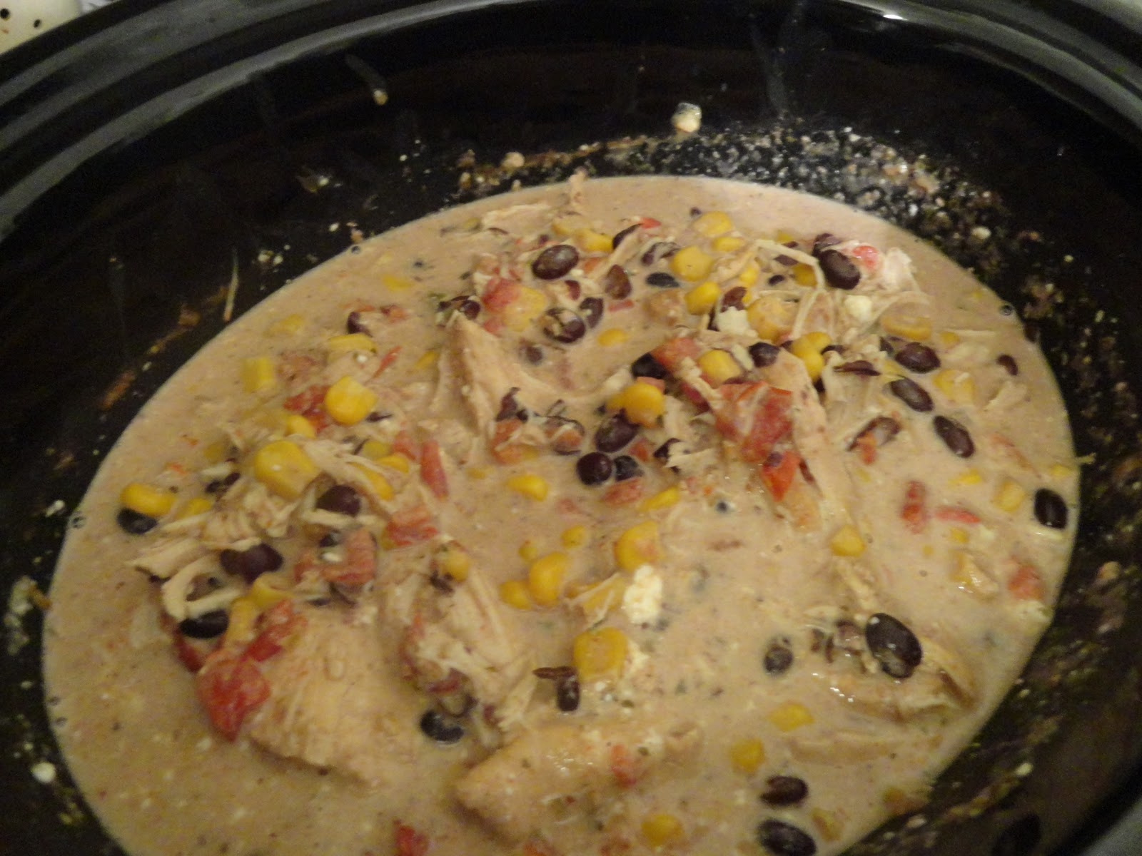 Le Beau Paon Victorien: Food: Slow Cooker Cream Cheese Chicken Chili