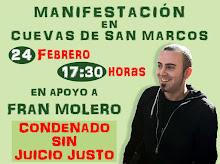 Indulto para Francisco Molero Ojeda