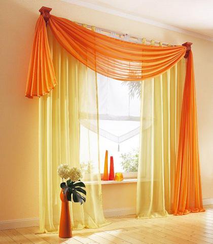 D coration maison avec rideaux - Maison coloree rideaux ...