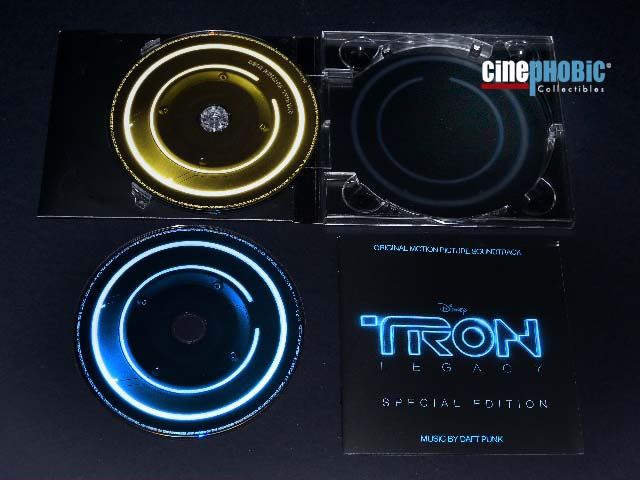 Cinephobic Tron Legacy Soundtrack Special Edition 2 Cd