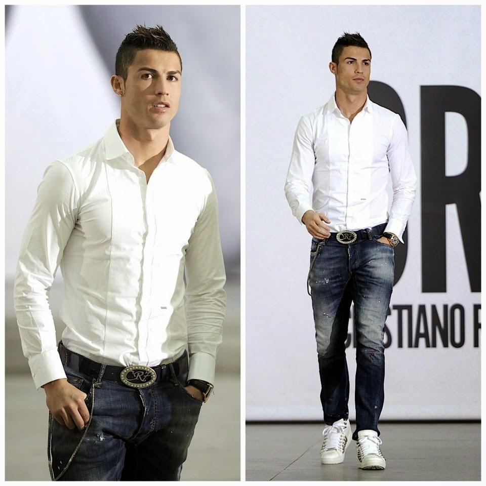 football players style cristiano ronaldo fashion style