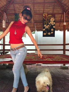 Votey Teav Khmer Girl Sexy Shirt and Hot Jean 2