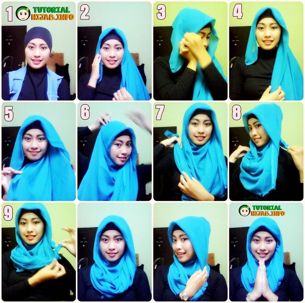 Grosir Jilbab Kota Kendari Tutorial Memaakaii Hijab Episode 1