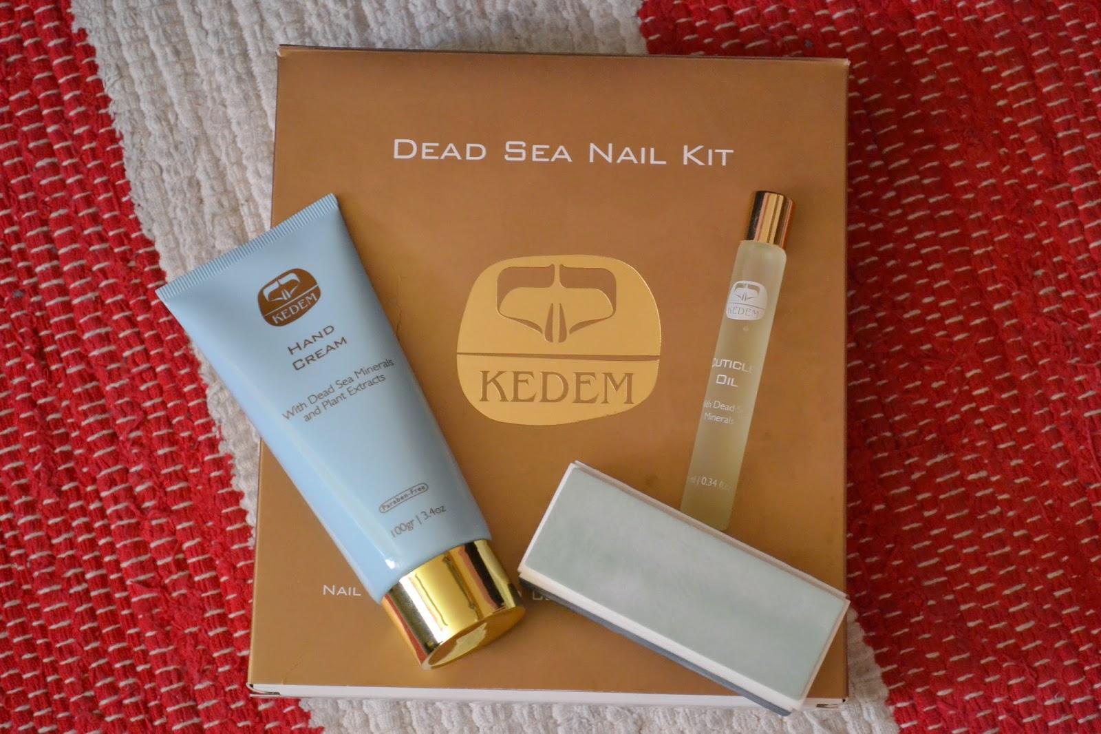 Kedem Dead Sea Nail Kit ~ Liz Libster.