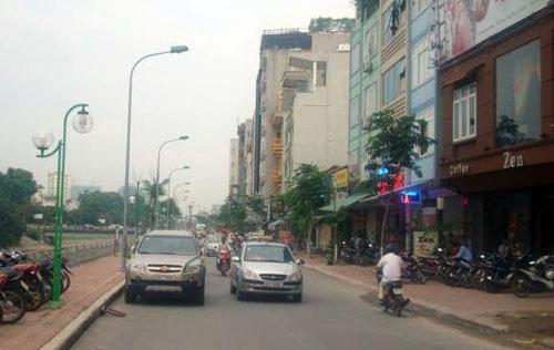 Bán nhà mặt phố Nguyễn Ngọc Vũ