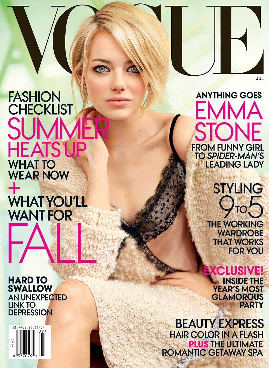 Фото девушек на обложках журналов