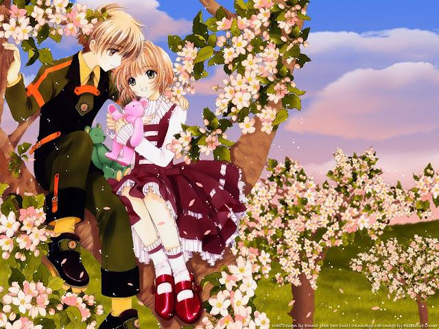 100092-Romantic Card Captor Sakura HD Wallpaperz