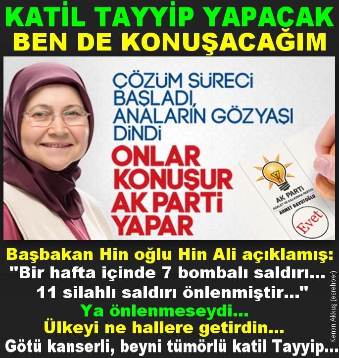 EMİNE'NİN AĞLAYACAĞI GÜN DE GELECEK TAYYİP...