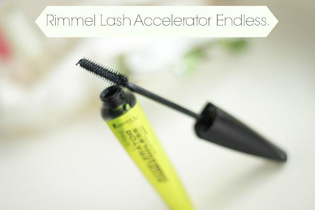 review rimmel lash accelerator mascara