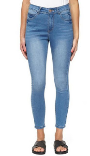 Cotton On 7/8 skinny high rise jean