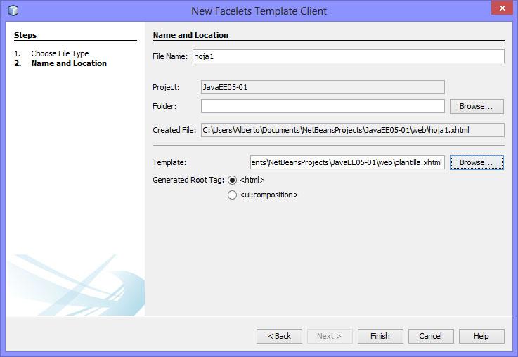 Programacion Romana: Java EE - Tema 5 - Plantillas.
