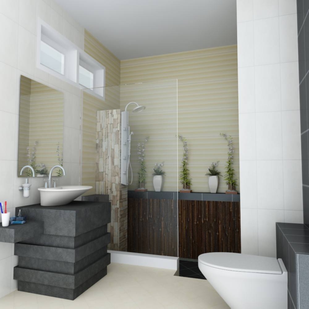 Furniture 3d bathroom design for 3d bathroom decor