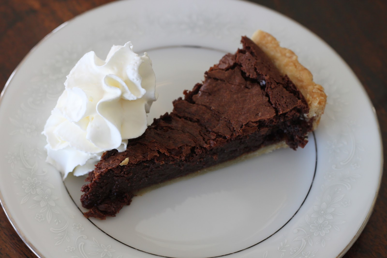 Good Clean Fun: Chocolate Fudge Tart