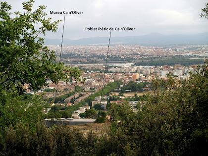 La plana del Vallès des del Puig de la Guàrdia