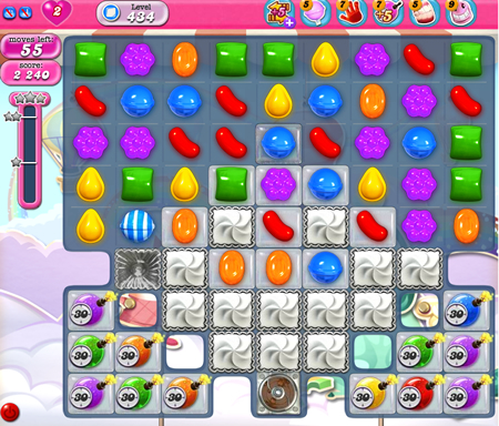 Candy Crush Saga 434