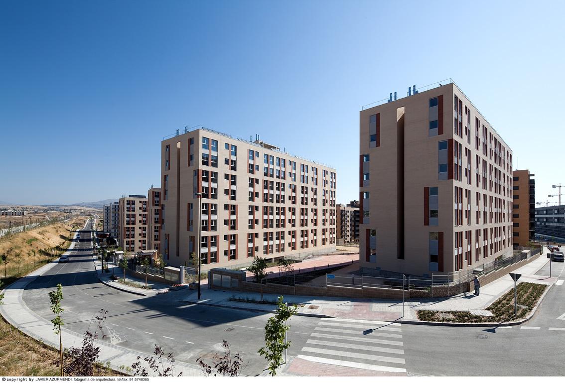 L m arquitectos 288 viviendas vpp en tres cantos - Viviendas tres cantos ...