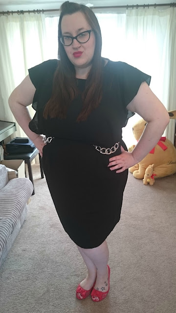 fat, plus size, bbw, chubby, curvy, simply be, shift dress