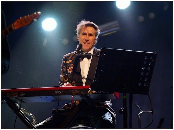 Bryan Ferry in Louis Vuitton - 2014 Coachella Valley Music & Arts Festival