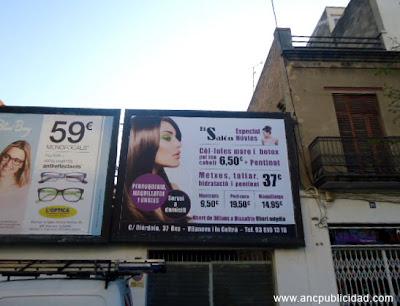 valla publicidad 4x3