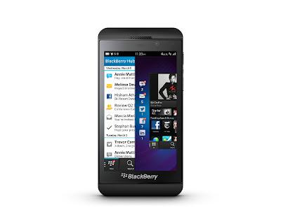 Keren, Blackberry Z10 Dipesan Lebih Dari 1 Juta Unit