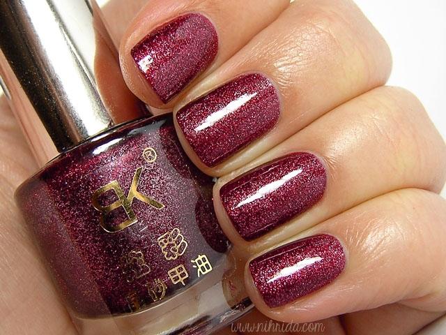 Born Pretty Store BK Crystal Sand Nail Polish #18
