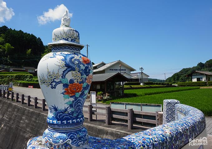 Pont en céramique, Okawachiyama, Saga, Kyushu