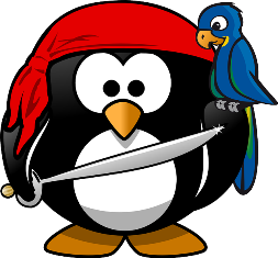 capitan uncino pinguino