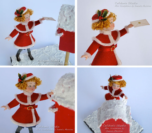 Caro Babbo Natale - OOAK Doll 1/12 - By Celidonia - Daniela Messina