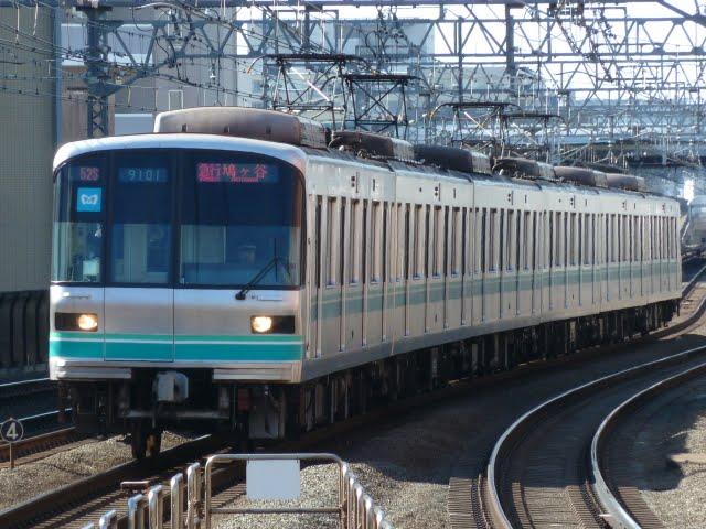 東京メトロ南北線 急行 鳩ケ谷行き1 9000系
