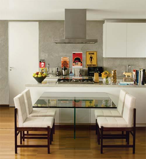 Sala De Jantar Com Janela De Vidro ~ Ideias para cozinhas planejadas!  Jeito de Casa  Blog de Decoração