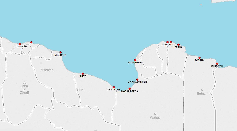 PORTS IN LIBYA