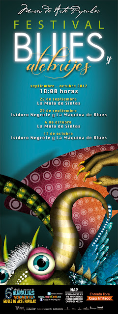 Festival Blues y Alebrijes en el Museo de Arte Popular