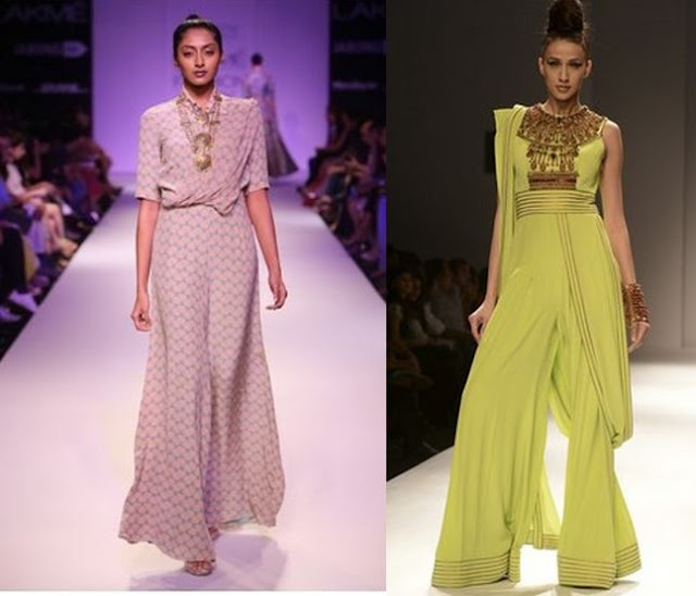 jumpsuit saree, payal singhal