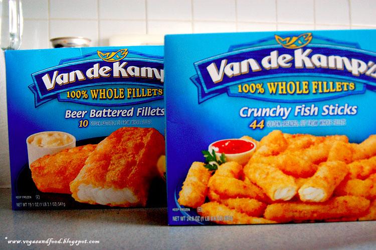 Van de kamp 39 s frozen fish fillets vegas and food for Van de kamp s fish sticks
