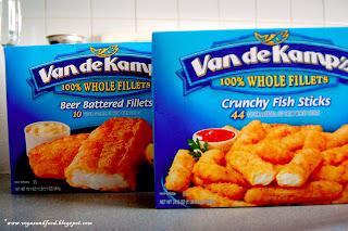 Van de kamp 39 s frozen fish fillets vegas and food for How to freeze fish fillets