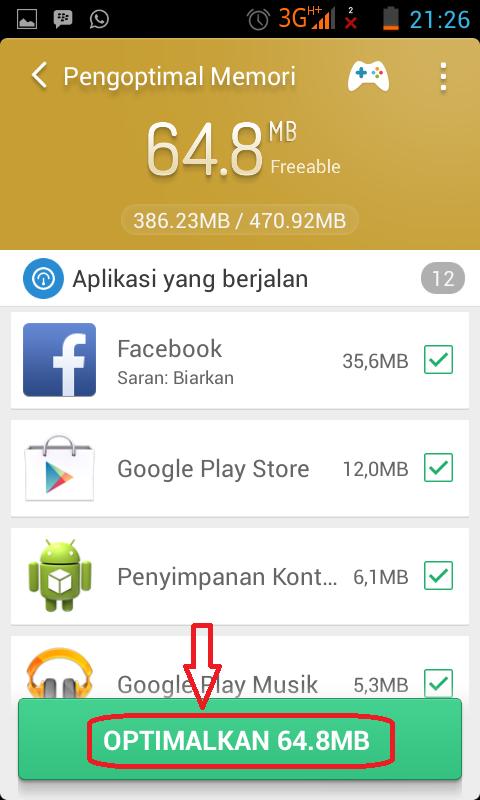 mempercepat android yang lemot lelet dengan aplikasi clean master