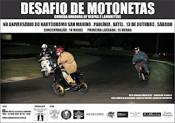 Desafio de Motonetas #3