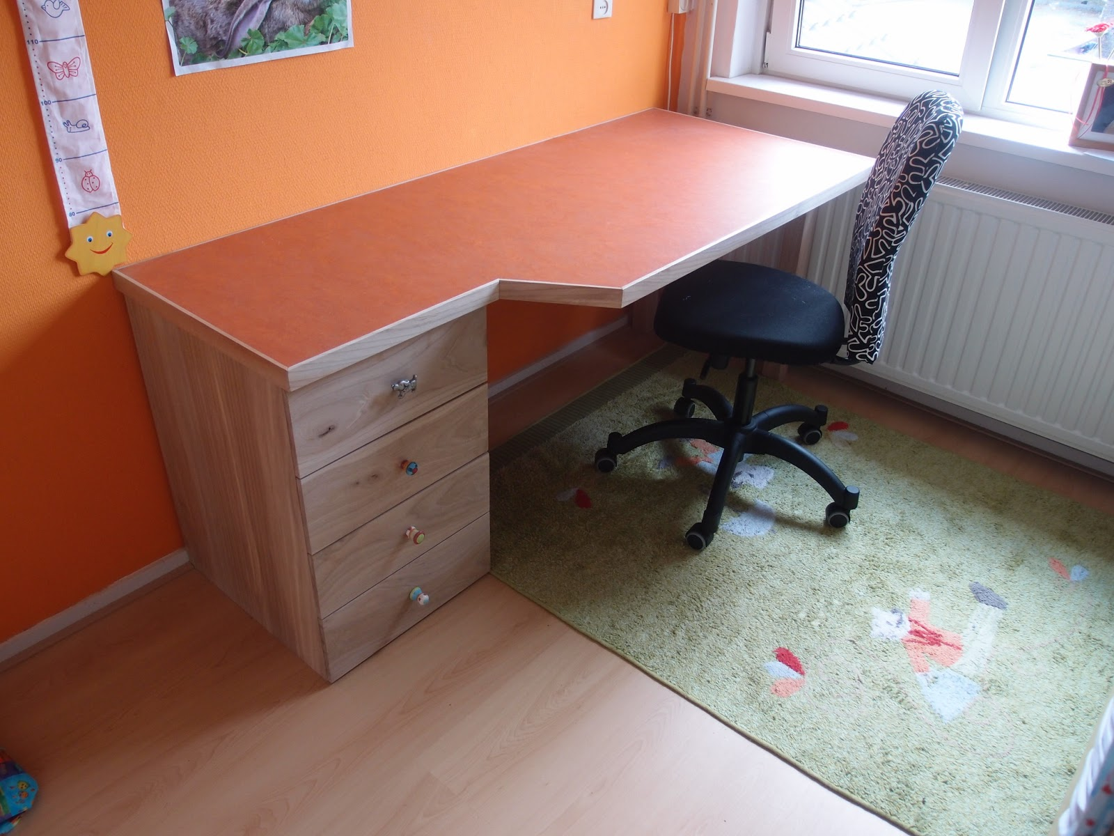 Hartgers hout bureau ladenblok