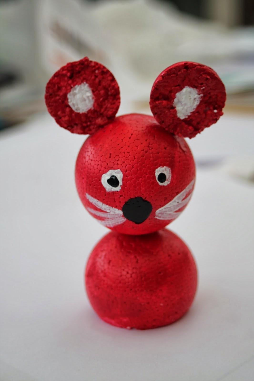Mati re cr ative comment cr er des petits personnages avec des boules de polystyr ne - Boule de polystyrene ...
