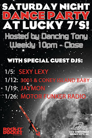 Saturday Night Dance Parties at Lucky 7&#39;s