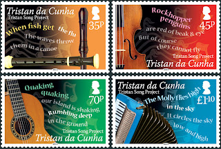 Tristan da Cunha – The Tristan Song Project - www.pobjoystamps.com