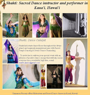 Shakti in Hawaii - photos