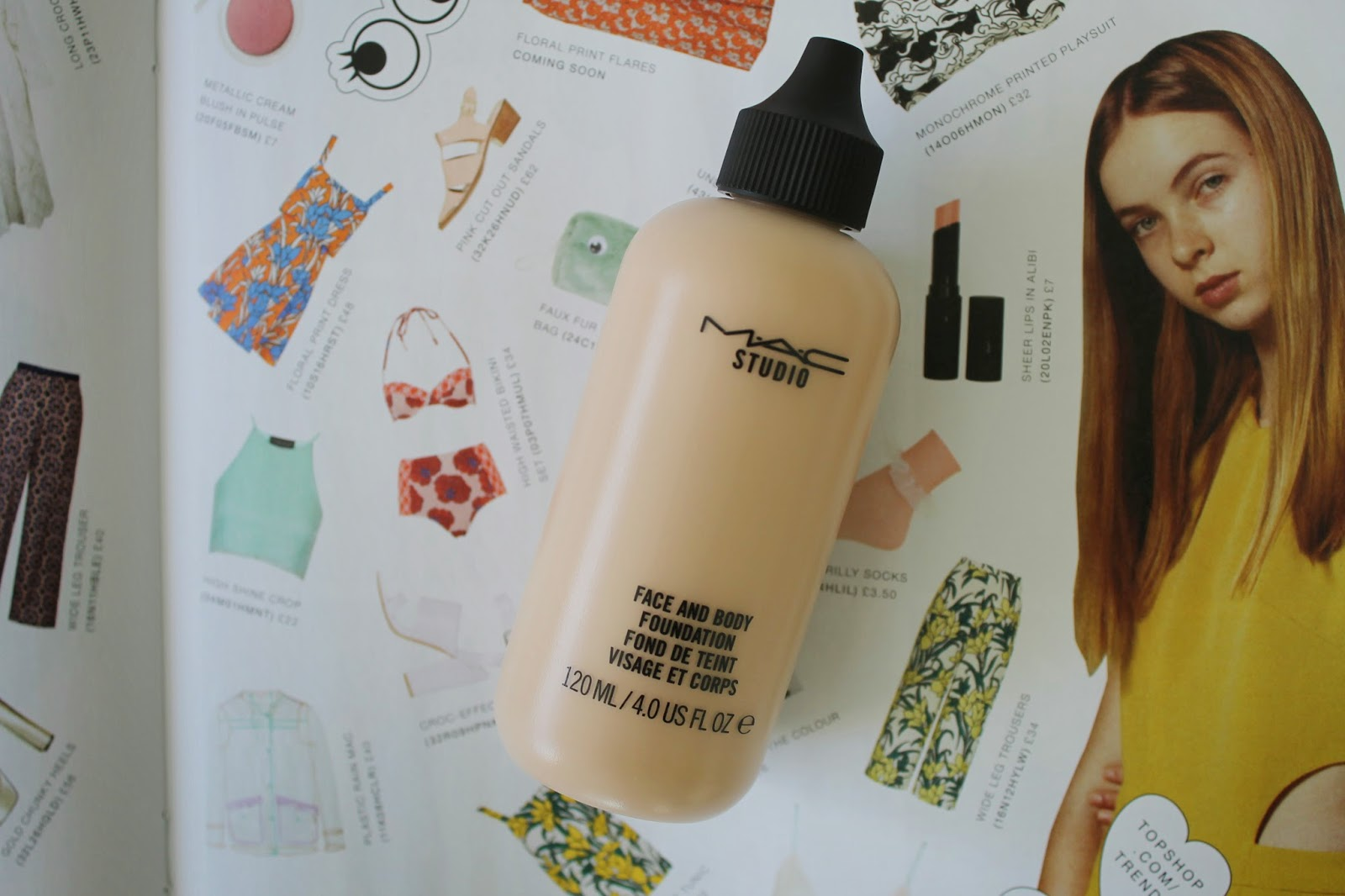 Review: MAC Face and Body Foundation