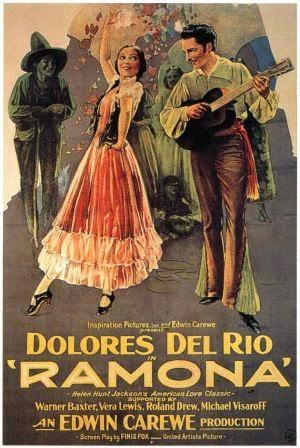 1928 Ramona Movie Poster