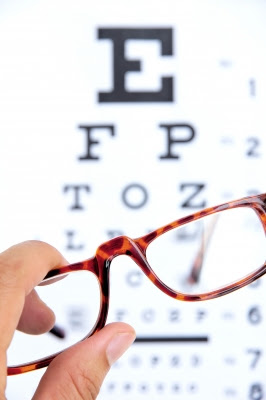 Vision Exam, Eyeglasses,