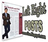 cara menulis posting kanan kiri