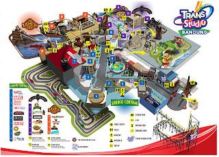 Peta Trans Studio Bandung