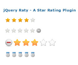 jQuery Raty - A Star Rating jQuery Plugin