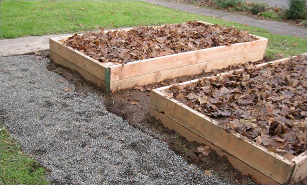 In en om die huis winter tuin werk - Idee van allee tuin ...