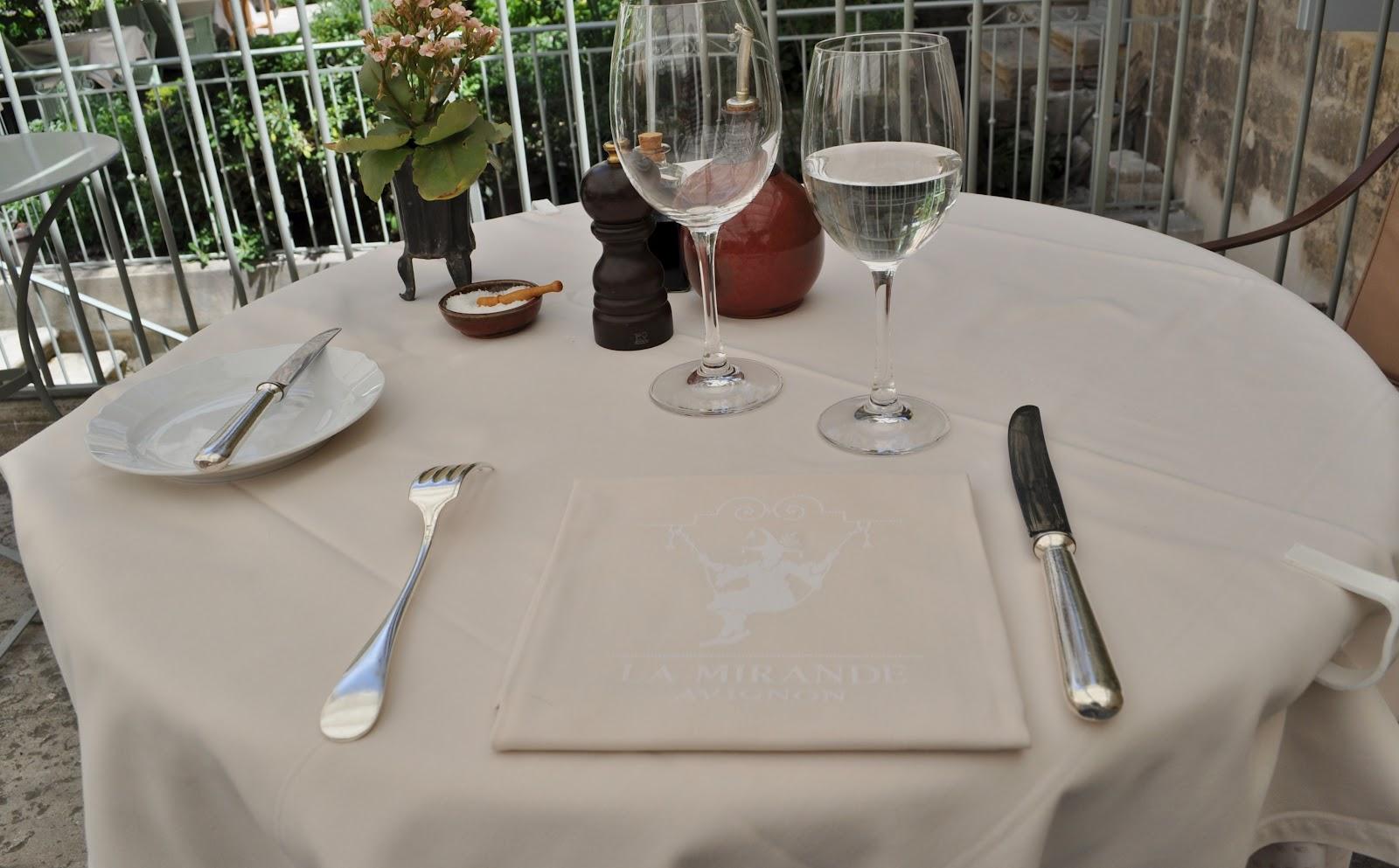 Our house in provence la mirande restaurant avignon - L amuse bouche avignon ...
